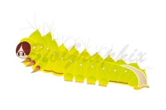 20_Animals_Antheraea_pernyi_Larva